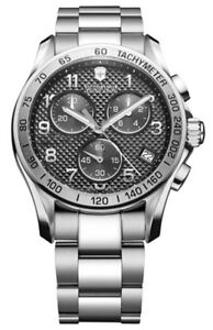 Victorinox Classic Chronograph Swiss Made Watch 241405