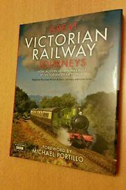 Great Victorian Railway Journeys Hardback Book