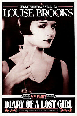 DIARY OF A LOST GIRL Movie POSTER 11x17 D Louise Brooks Fritz Rasp