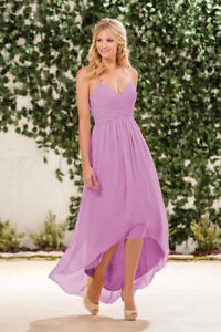 Gorgeous B2 Jasmine Purple Gown for Weddings or Formal Events