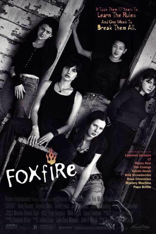 FOXFIRE Movie POSTER 11x17 Anglelina Jolie Hedy Burress Jenny Lewis