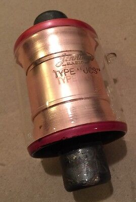 Jennings Radio Tube Type Jcs Jcs - I - 75 Fixed Vacuum Capacitor 25 Kv 75 Pf
