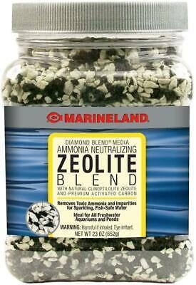 2-Pack Marineland Ammonia Neutralizing Zeolite Diamond Blend Aquarium fish Media