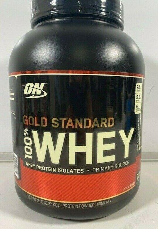 Optimum Nutrition Gold Standard 100% Whey Protein Powder- DO