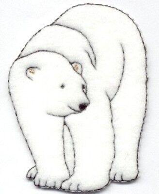 Polar Bear Patch - POLAR BEAR IRON ON PATCH