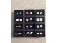 12 sets of next Men's cufflinks £10 each or the whole lot for £100