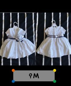 Girl baptism dress 9M