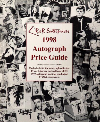 R&R Enterprises 1998 Autograph Price Guide (1998 Paperback)
