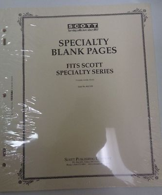 Scott Specialty blank pages stamp collection NEWunopened pack 20 ACC110 Border A