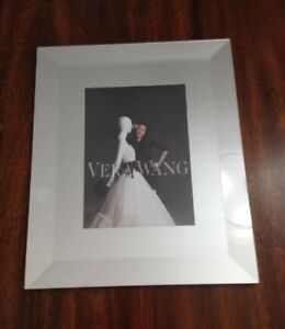Vera Wang for Wedgewood - Beveled Mirror 5x7 Picture Frame
