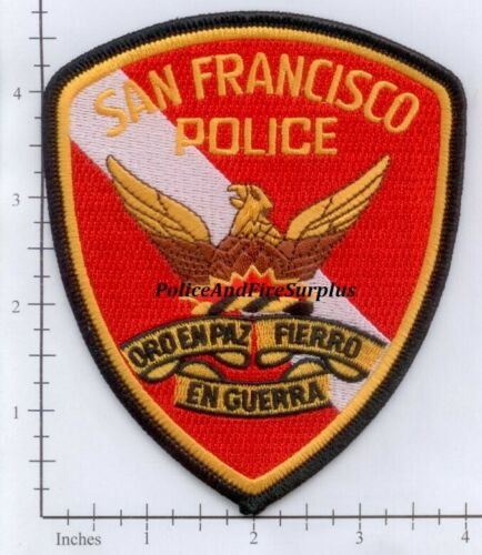 California - San Francisco CA Police Dept Patch  CHiPs  CHP
