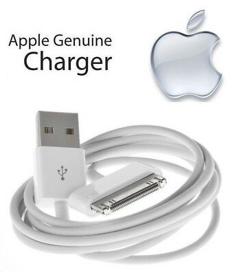 100% Original Apple iPad 3rd Gen - 30 Pin to USB Cable Charger (1m/3ft) MA591G/C