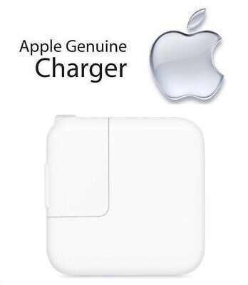 100% Genuine Original Apple iPad 6th Gen - 12W USB Power Adapter Charger (A1401)