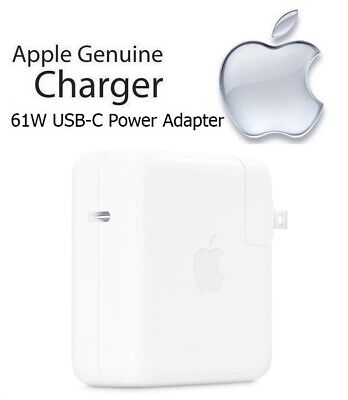 Apple MacBook Pro 13-inch 61W USB-C Power Adapter Fast Charg