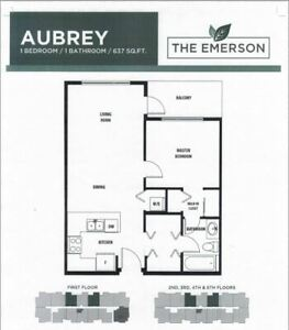 Brand new one-bedroom condo in Maple Ridge