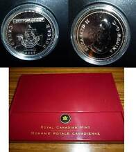 2006 Canadian Victoria Cross Silver Proof $1 Coin-NEW in BOX +COA Wembley Cambridge Area Preview