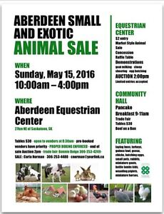 Aberdeen Small and Exotic Animal Sale