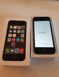 iPhone 5S 32gb ROGERS black top shape
