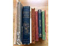 Antique Poetry Books Vintage Children's Books