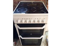 Indesit ID50C1 Double Electric Cooker