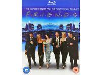 Friends Series 1-10 Blu Ray Box Set Unused