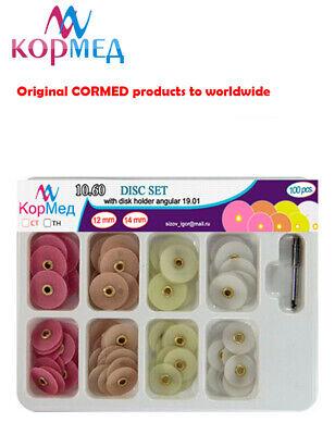 10.60 Dental Finishing Polishing Discs Metal Connector Universal Kit 100 Pcs.