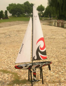 R/C RTS 3CH MONSOON 900 RACING YACHT NEW