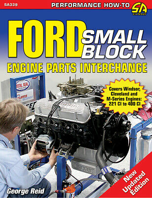 Ford 302 289 260 221 Engine Parts Casting Number Interchange Id Book