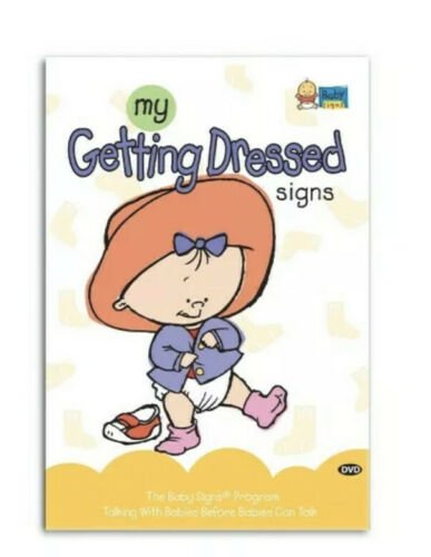 New My Getting Dressed Signs DVD By Baby Signs  - $9.99