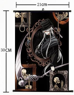 Hot Anime Black Butler Wall Scroll Home Decor Poster Cosplay Christmas Gift s903