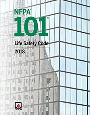 NFPA 101 2018 : Life Safety Code Paperback (Softbound) 2018 Edition New