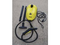 KARCHER STEAM CLEANER - USED TWICE - AS NEW