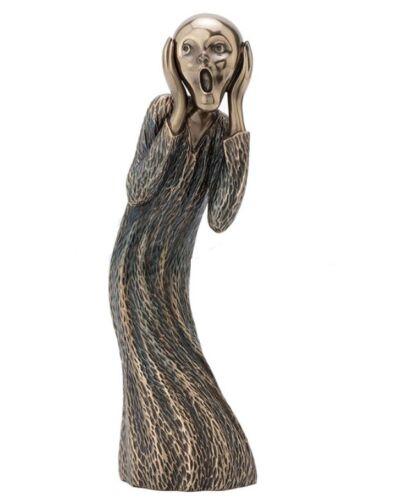 "8"" Edvard Munch The Scream Statue Sculpture Home Decor"