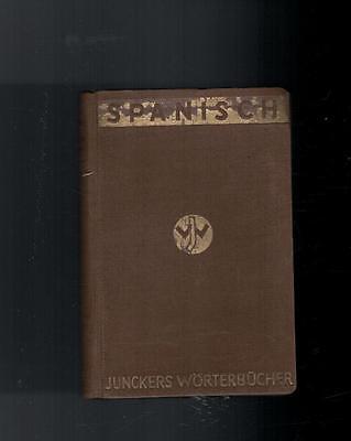 Junckers Wörterbücher - Spanisch Deutsch