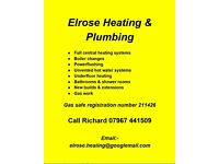 Elrose Heating & Plumbing.........for all your heating and plumbing needs