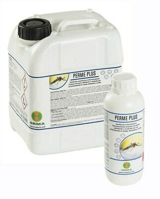 Perme Plus Insecticide Concentrate Permethrin Tetramitrina Piperonil 2 X LT.5