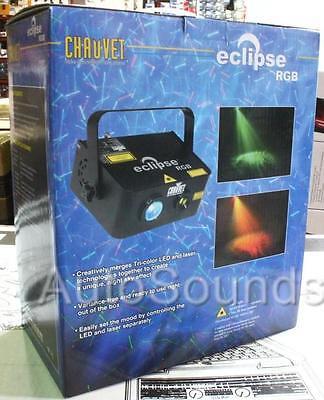 Chauvet ECLIPSE RGB Tri Color LED Lights Mixed w/ Red & Green Laser Light Effect Chauvet Led Color