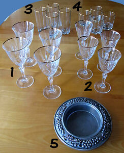 CRYSTAL WINE GLASSES + BUNDLE
