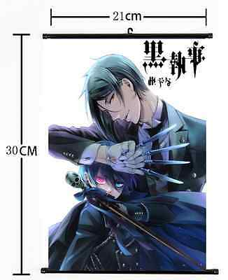 HOT Anime Black Butler Wall Poster Scroll Home Decor Cosplay 806