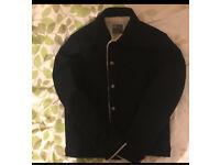 Men jacket Navy (Wool Mix)