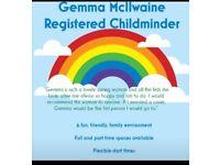 Registered childminder, Deans