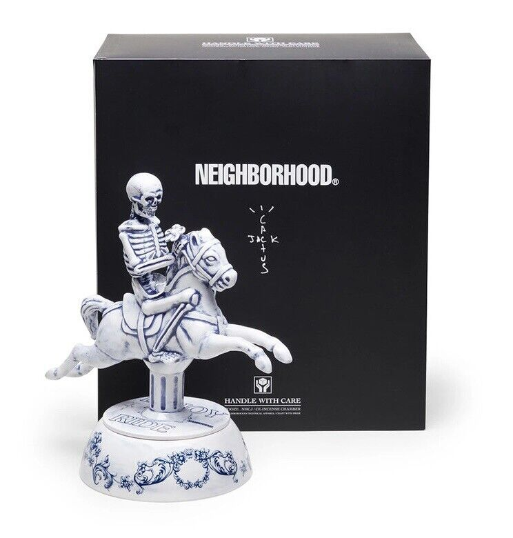 Travis Scott Cactus Jack For Neighborhood Carousel Incense Chamber Astroworld