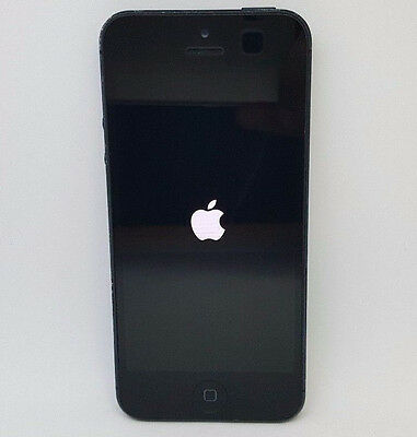 Apple iphone 5 - 16GB - Black/Slate (Foreign Locked) Acceptable Clean ESN