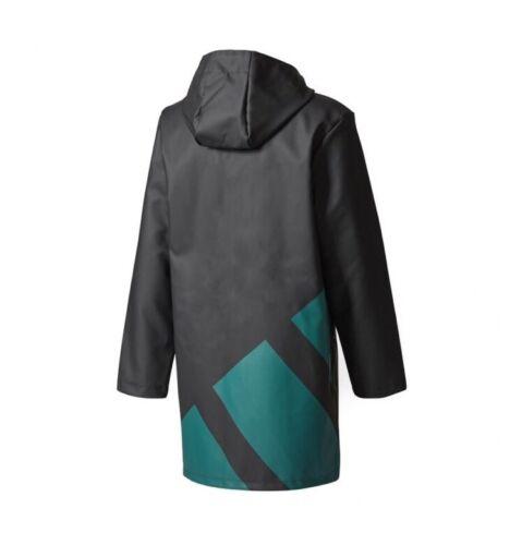adidas Originals EQT Hooded Rain Jacket Men's Size XL Black