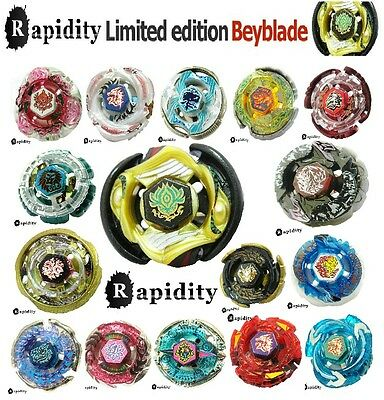 Beyblades Rapidity Single Metal Fusion Fight Masters WBBA Top Lot Set Style NEW