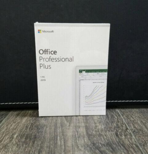 Microsoft Office 2019 Pro Professional Plus Retail - 2 PC