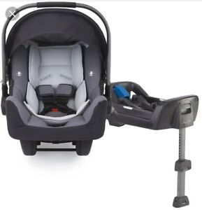 NUNA INFANT CARSEAT WITH ADAPTOR