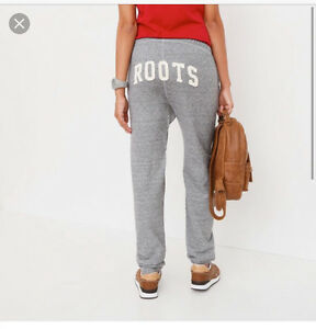 "Looking for ""salt and pepper"" roots sweatpants."