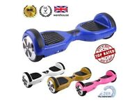 UK LATEST CERTIFIED SEGWAY - BRAND NEW - FREE DELIVERY - Hoverboard Smart Balance Wheel Scooter