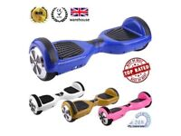 UK GENUINE SEGWAY - FREE UPS DELIVERY - Hoverboard Smart Swegway Balance Wheel Scooter